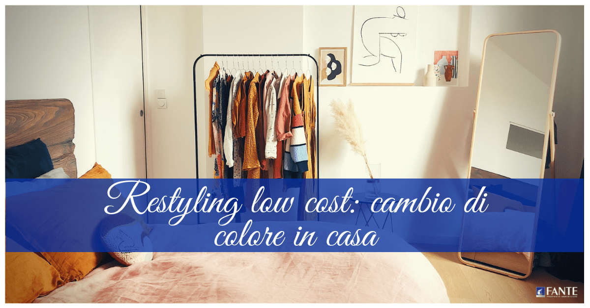 Restyling low cost: cambio di colore in casa