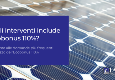 Quali interventi include l'ecobonus 110%?